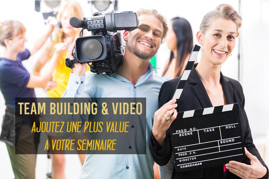 Team building Vidéo séminaires entreprises Paris Lille